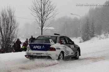 PdTech Mikuláš Rally Slušovice 2010